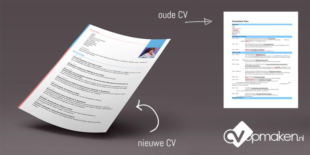 Voorbeeld CV opgemaakt door CVopmaken