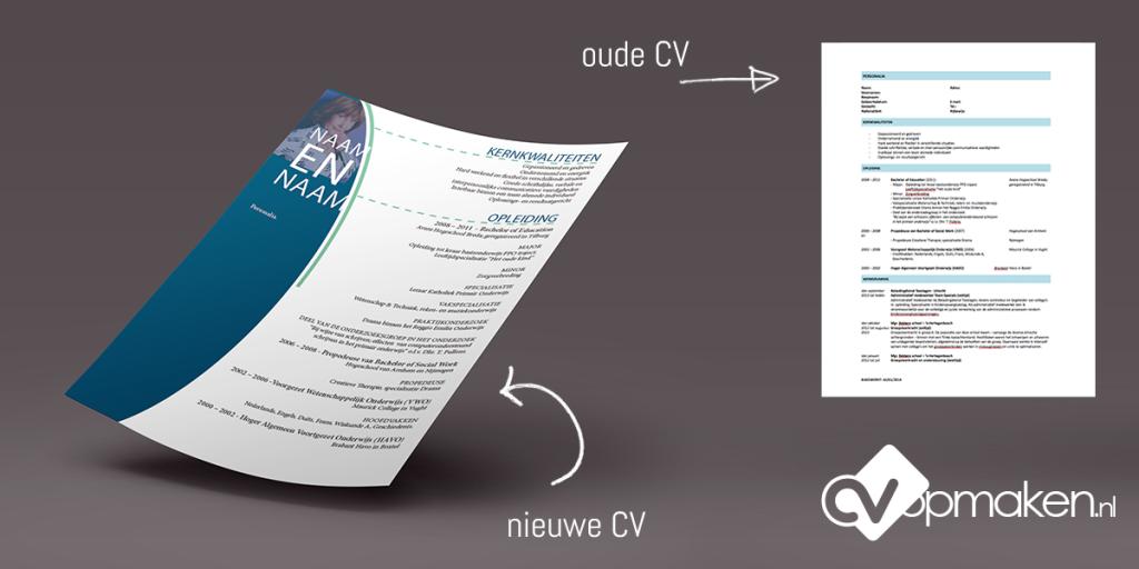Voorbeeld CV vormgegeven door CVopmaken