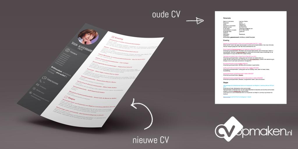 Voorbeeld CV door CVopmaken